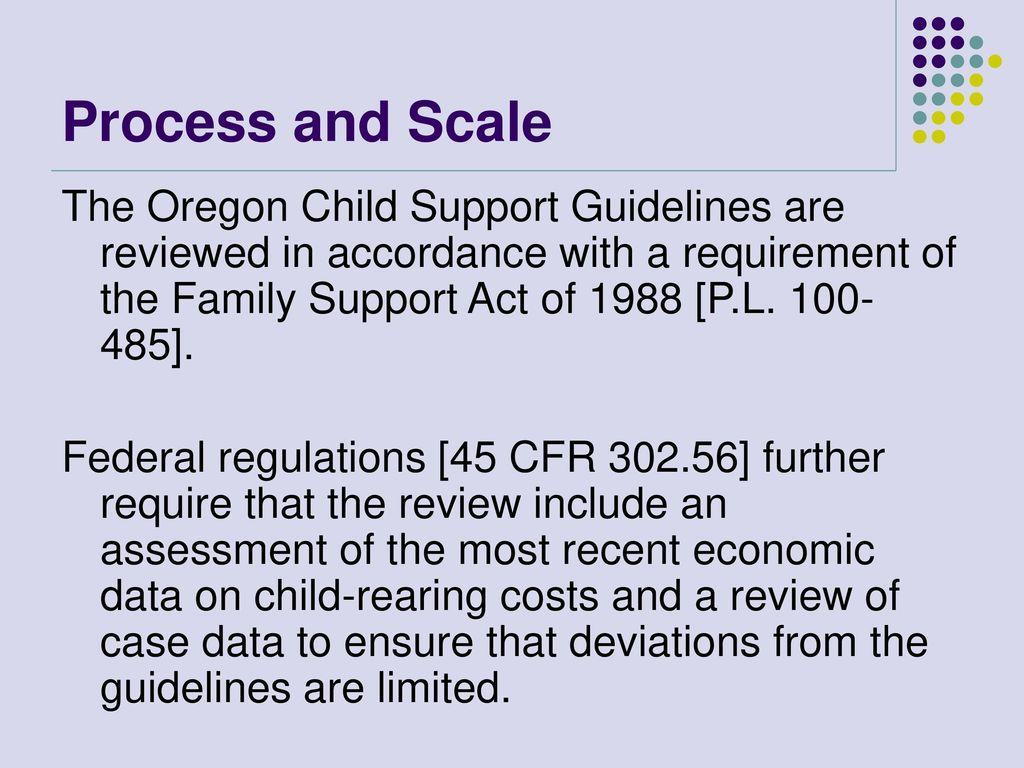 Oregon Child Support Worksheet - Checks Worksheet